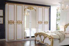 pol power barock schlafzimmer weiß gold möbel