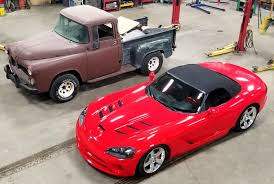 100 Dodge Viper Truck Building A 1956 On A Chassis Engine Swap Depot