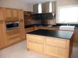 cuisine bois plan de travail noir cuisine plan de travail granit granit noir poli
