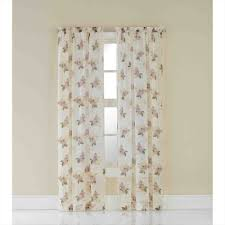 Jcpenney Lisette Sheer Curtains by Sheer Drapes Privacy Nicetown Sheer Curtains 63 Long Rod Pocket