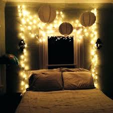 Bedroom Decorating With String Lights Indoors Christmas Light