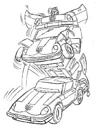 Transformers Prime Coloring Pages Bumblebee Tranformers Car Printable