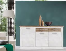sideboard kommode anrichte wohnzimmer pinie weiß eiche antik 172cm neu