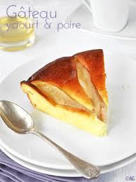 dessert aux poires leger gâteau léger au yaourt grec poire patisserie cake and food
