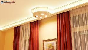 direkte und indirekte beleuchtung mit stuckprofilen günstig
