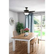 Cedar Park 5 Blade Ceiling Fan Dining Room Zoe Table Fantastic Furniture Hunter