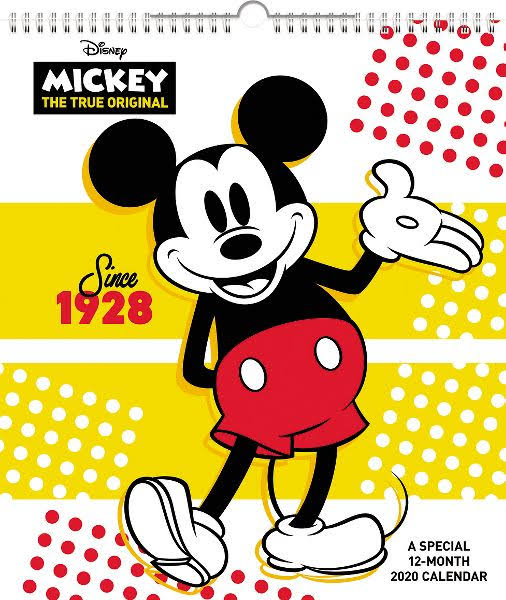 Mead Disney Mickey Mouse Monthly Wall Calendar - Calendars