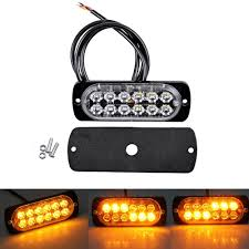 36W Amber Truck 12-LED Flash Emergency Hazard Warning Strobe Light ... 36w Amber Truck 12led Flash Emergency Hazard Warning Strobe Light Red Blue 16 Led Lights High Intensity Car Trailer Side Marker Strobe Lights 612 Flashing White Recovery Beacon 18led Firefighter Vehicle Dash Can Civilians Use In Private Vehicles Xyivyg 54 Bars Deck China Power Super Bright Tractor 3 Inch 45w Light V16 For American Simulator Ultra Slim Waterproof 18w 6led Surface Mount Minibrights Watt Amber Markerstrobe Peterbilt Tow