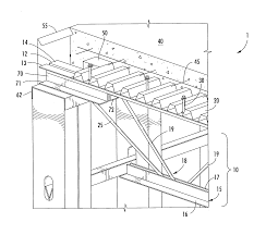 Distance Between Floor Joists On A Deck by Patent Us20090188192 Composite Joist Floor System Google Patents