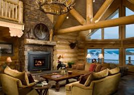 Log Homes Interior Designs 21 Rustic Cabin Design Ideas Style Motivation Model