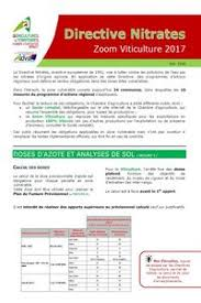 chambre agriculture 34 directive nitrates 2017 2018 zoom viticulture chambre d
