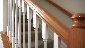 Open Handrail Vs Half Wall - Basement Remodeling Ideas Dublin Ohio ... Watch This Video Before Building A Deck Stairway Handrail Youtube Remodelaholic Stair Banister Renovation Using Existing Newel How To Paint An Oak Stair Railing Black And White Interior Cooper Stairworks Tips Techniques Installing Balusters Rail Renovation_spring 2012 Wood Stairs Rails Iron Install A Porch Railing Hgtv 38 Upgrade Removing Half Wall On And Replace Teresting Railings For Stairs Installation L Ornamental Handcrafted Cleves Oh Updating Railings In Split Level Home