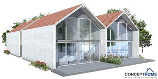 Images Duplex Housing Plans by Duplex House Ch108d In Modern Contemporary Architecture For