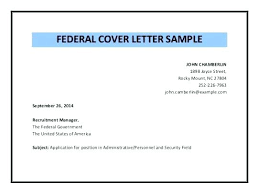 Federal Job Cover Letter Sample Jobs Resume Examples For Government Pertaining To Gov