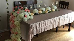 100 Elegant Decor DIY Dollar Tree Long Table Wedding Decor DIY Floral Decor DIY Elegant Decor DiyWedding Decor