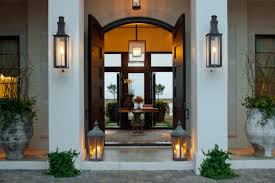 outdoor wall sconce lighting to support activity room decors and