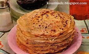 cuisine de chahrazed la cuisine algérienne crepes a la confiture