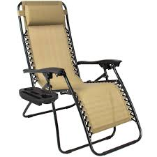 Anti Gravity Lounge Chair Cup Holder by Zero Gravity Chairs Case Of 2 Tan Lounge Patio Chairs Outdoor
