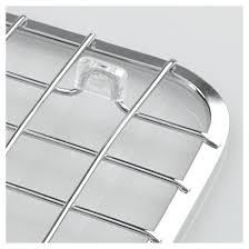 Sink Grid Stainless Steel by Interdesign Gia Stainless Steel Sink Grid With Drain Hole Chrome