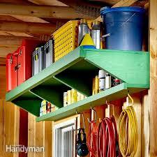 flexible garage wall storage family handyman