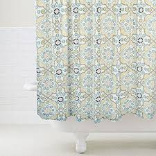 Mosaic Shower Curtain Bathroom Bed & Bath