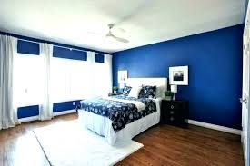 Navy Accent Wall Bedroom And Coral Ideas For Kitchen Dining Room