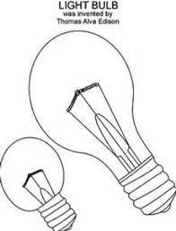 edison light bulb prop biography project