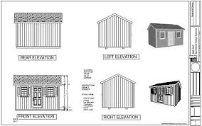 10x14 Garden Shed Plans by Great Free 10x14 Gable Shed Plans Haddi