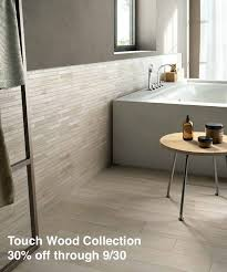 give your bathroom a rustic contemporary feel with wood look