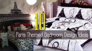 Paris Themed Bedroom Design Ideas