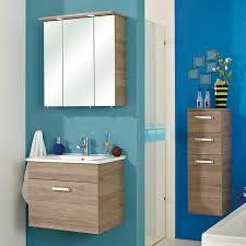 3tlg waschplatz set ostende 66 in sanremo eiche spiegelschrank mit l