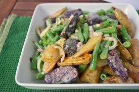 Warm Fingerling Potato And Green Bean Salad