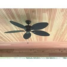 5 Palm Leaf Ceiling Fan Blades by Hunter Fan Bayview 54 Inch 5 Palm Leaf Blades Ceiling Fan Free