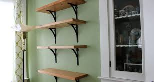 New Reclaimed Wood Dining Room Shelves