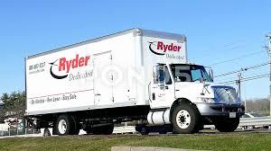 100 Ryder Truck Rental Truck Highway Traffic Hi Res Video 61747881
