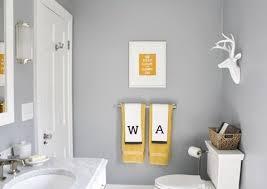 badezimmer grau mit idee für frische wandgestaltung