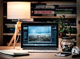 Free laptop desk macbook work screen apple working