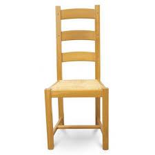 chaise en ch ne massif chaises chêne clair assise paille chêne massif beaux meubles pas chers