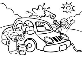 Download Car Wash Coloring Pages