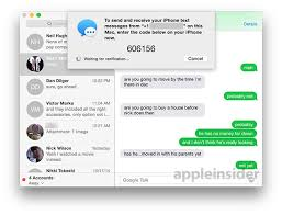How to send and receive SMS text messages in OS X Yosemite
