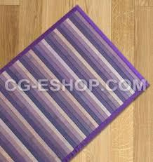 violett lila teppich bambus verschwinden läufer küche und