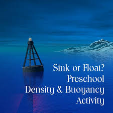 Materials Sink Or Float by Preschool Science Sink Or Float Activity To Learn About Buoyancy