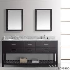 72 Inch Double Sink Bathroom Vanity by Virtu Usa Caroline Estate 72 Inch Double Sink Bathroom Vanity Set