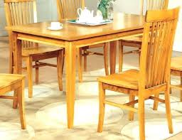 Maple Dining Set With 6 Chairs And 2 Leaves Round