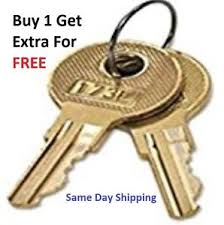 2 anderson hickey hon file cabinet keys l700 l824 office