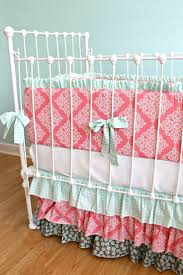 Coral Colored Bedding by 94 Best Baby Bedding Images On Pinterest Baby Beds Baby Bedding