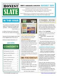August 2019 Honest Slate By Honest Weight Food Co-op - Issuu