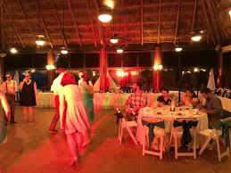 Sandos Playacar Beach Resort Indoor Wedding Reception Venue We Loved The Space