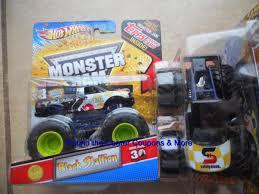 100 Black Stallion Monster Truck WHEELS Jam BLACK STALLION SAFETY KLEEN New Paint 1 64