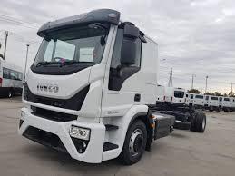 100 Truck Sleeper Cab 2019 Iveco Eurocargo E6 ML120E28 CAB Chassis Auto White